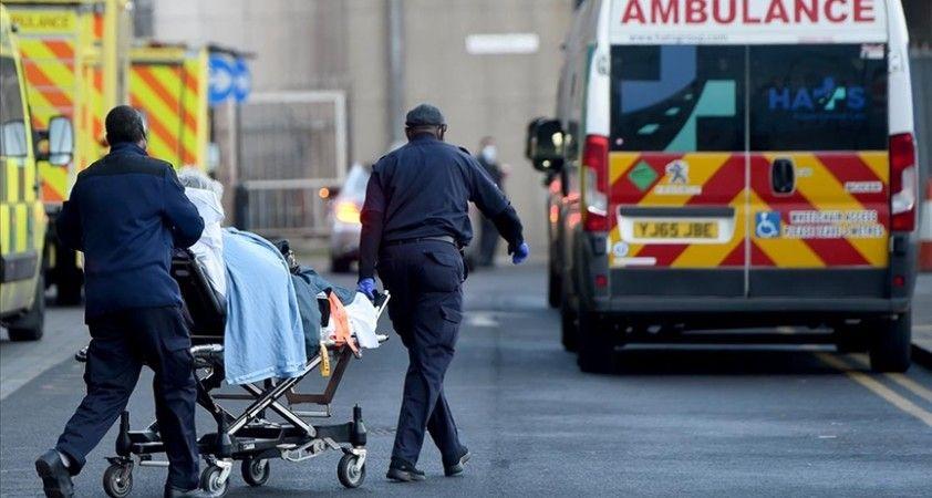 İngiltere'de Kovid-19 nedeniyle son 24 saatte 95 kişi hayatını kaybetti