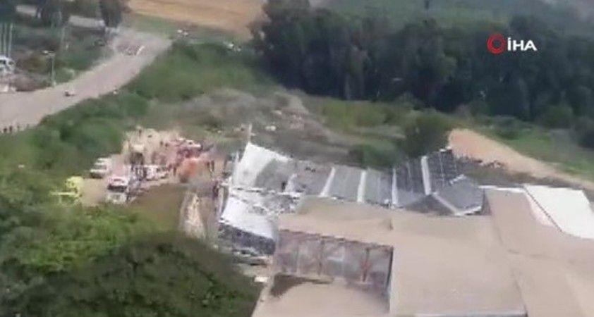 İsrail'de bir spor sahasının çatısı çöktü: 8 yaralı