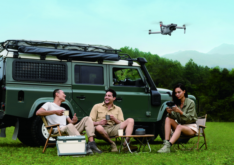 En güvenli ve en kolay uçurulabilen tüketici Dronu; 'Mavic Air 2'