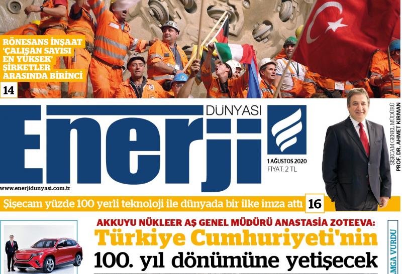 Enerji Dünyası E-Gazete - Ağustos 2020