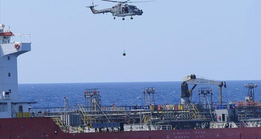 İrini Operasyonu'nda Bingazi'ye jet yakıtı taşıyan gemi durduruldu