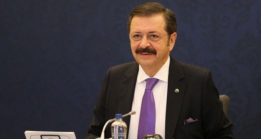 TOBB Başkanı Hisarcıklıoğlu: Yüzde 7 büyüme memnuniyet verici