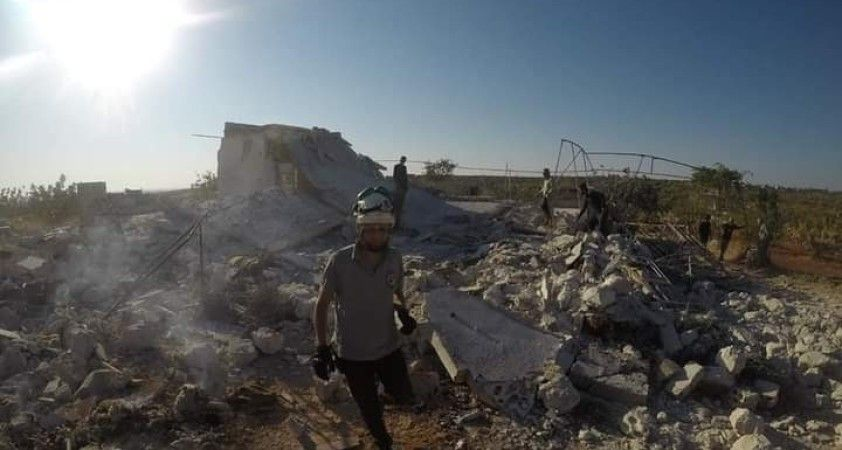 Esad rejimi İdlib kırsalını vurdu: 4 çocuk hayatını kaybetti