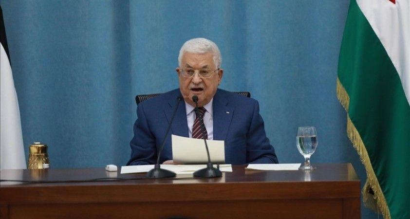 Filistin Devlet Başkanı Abbas, Mısır İstihbarat Başkanı'yla 'Gazze'nin imarı ve ateşkesi' görüştü