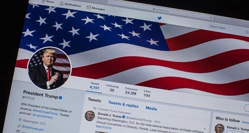 Trump Twitter'dan 4 yılda 25 binden fazla paylaşım yaptı