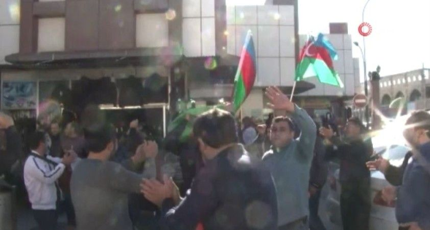 Şuşa zaferi Azerbaycan halkını sokağa döktü