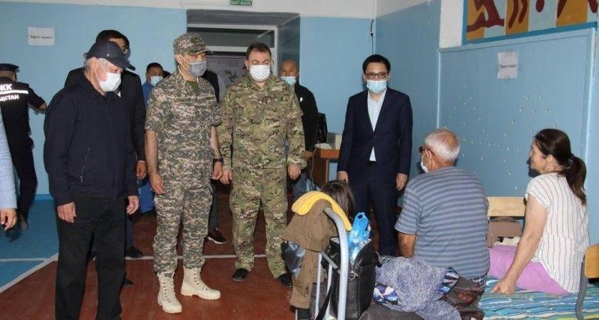Kazakistan'da askeri depodaki patlamada 4 asker öldü