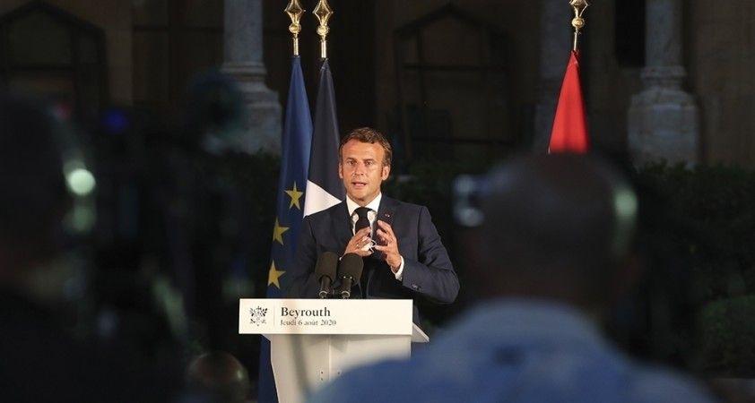 Macron'dan DEAŞ ile mücadelede Irak'a destek