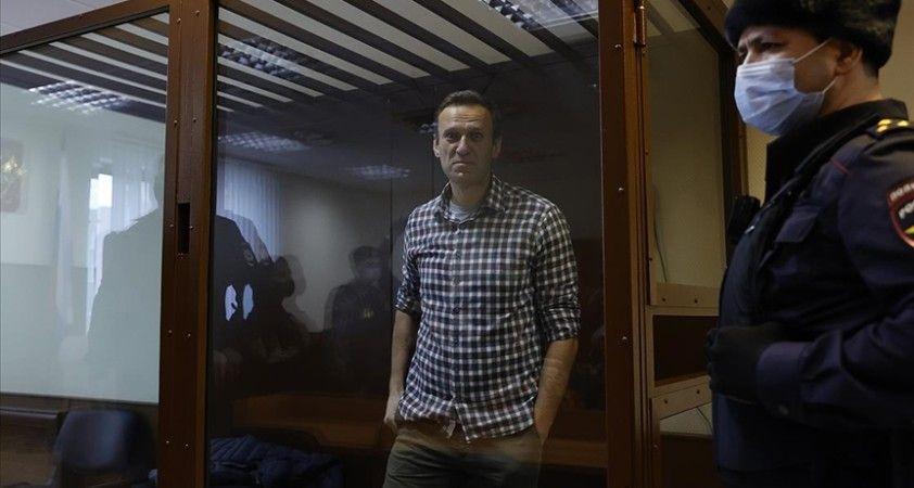 Rusya'da mahkeme, Navalnıy'ın hapis cezasına yaptığı itirazı reddetti