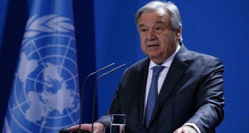 BM Genel Sekreteri Guterres, iklim krizi konusunda uyardı: Geri dönüşü olmayan noktaya çok yakınız
