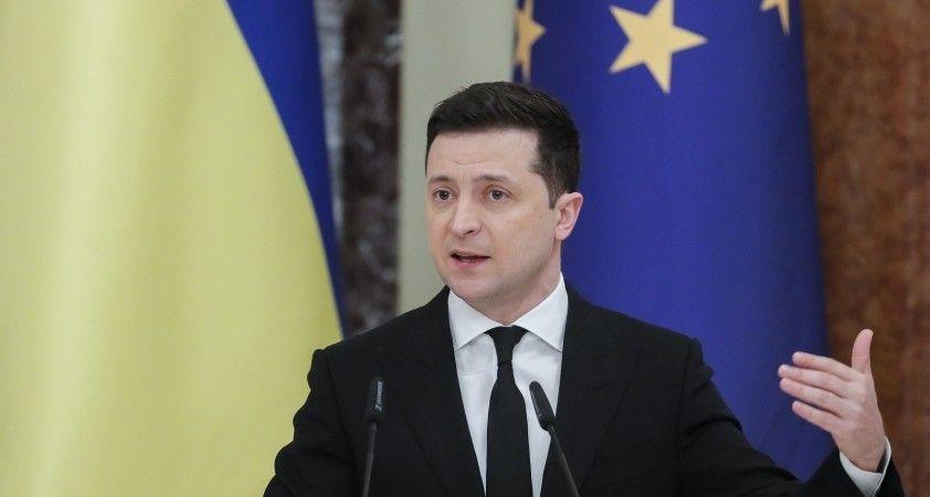 Ukrayna Devlet Başkanı Zelenskiy, 'Bu, Ukrayna ve Avrupa'ya karşı bir silah'