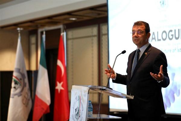 İmamoğlu İstanbul'da İtalyan girişimcilerle buluştu