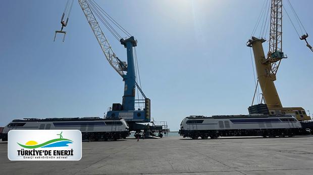 Körfez Ulaştırma, Türkiye'nin ilk Hibrit Lokomotiflerini teslim aldı