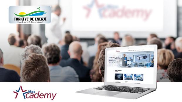 'Mas Academy'nin web sitesi yayında