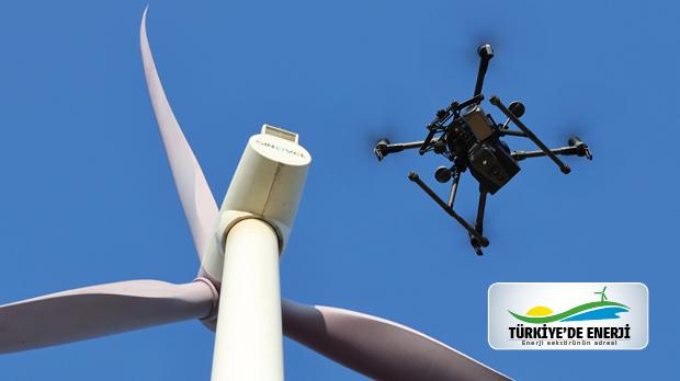 Türbin Kanat incelemelerinde droneların 4 önemli faydası