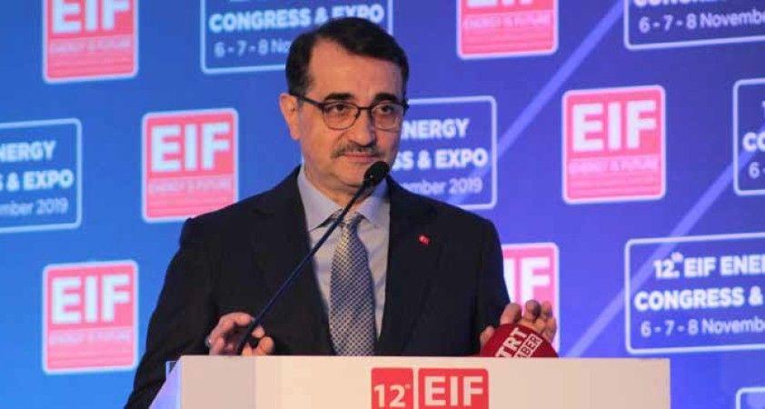 Enerji ve Tabii Kaynaklar Bakanı Fatih Dönmez: \'Enerji gelecektir, gelecek milli enerjidedir\'