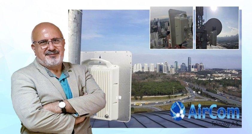 Akıllı şehir yolculuğu (XXII) AirCom Teknoloji
