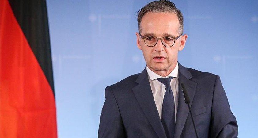 Almanya Dışişleri Bakanı Maas: 'Navalny derhal serbest bırakılmalı'