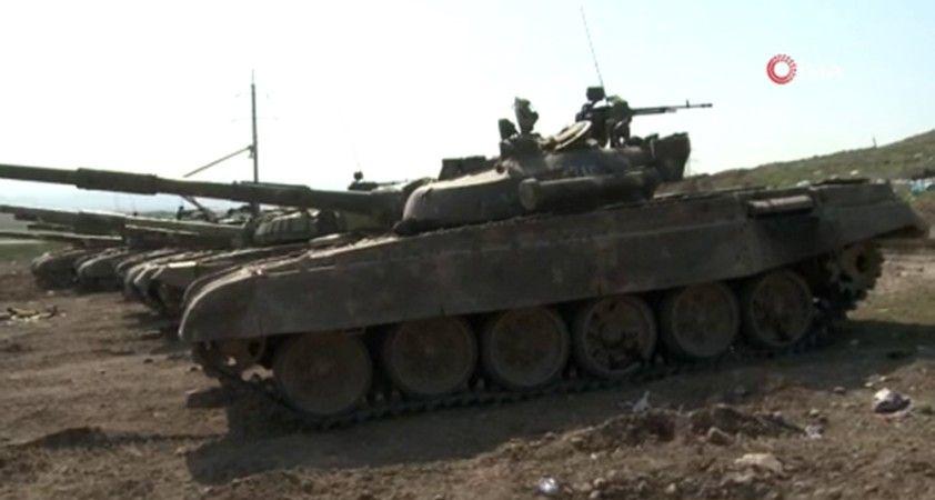Azerbaycan ordusu 20 köy ve 1 kasabayı daha işgalden kurtardı