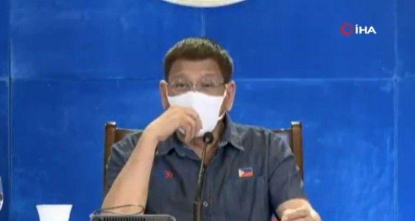Filipinler Devlet Başkanı Duterte: