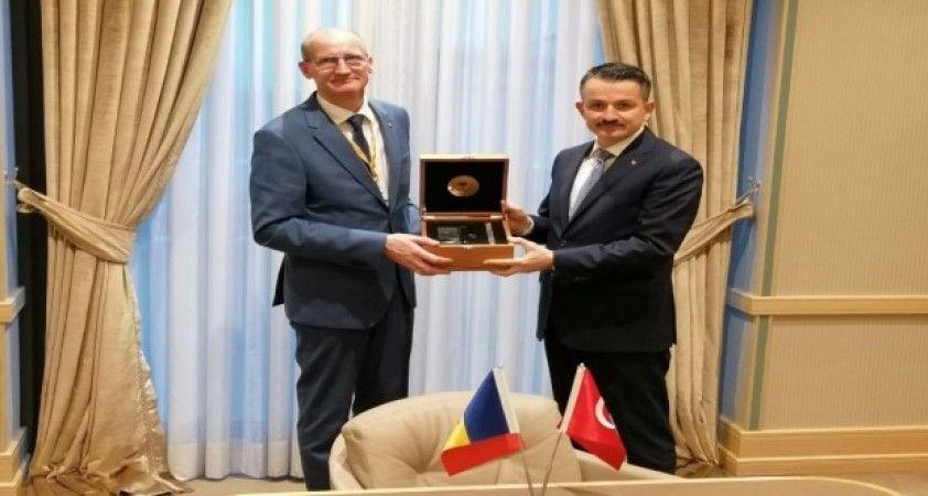Bakan Pakdemirli, Moldovalı mevkidaşı Perju ile görüştü