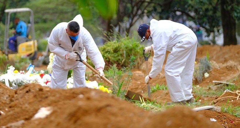 Kovid-19 nedeniyle Brezilya'da 1071, Meksika'da 539, Hindistan'da 551 kişi daha hayatını kaybetti
