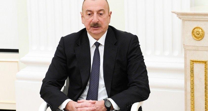 Azerbaycan Cumhurbaşkanı Aliyev'den Cumhurbaşkanı Erdoğan'a taziye mesajı