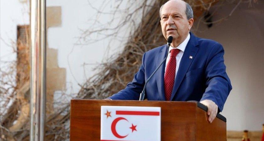 KKTC Cumhurbaşkanı Tatar: Cenevre'deki 5+1 görüşmelerine AB'nin gözlemci statüsüyle katılmasını onaylamayacağız