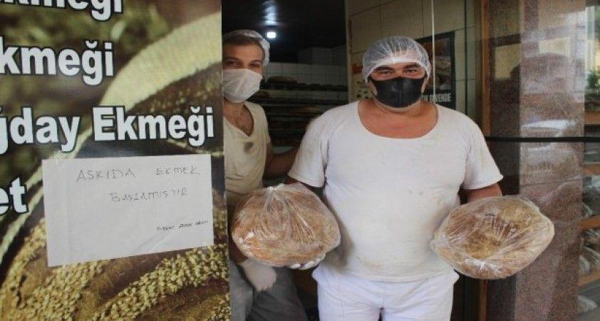 Manisa'da 40 fırından 'Askıda ekmek' uygulaması