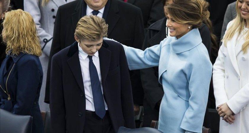 ABD Başkanı Trump'ın oğlu Barron da Kovid-19'a yakalanmış