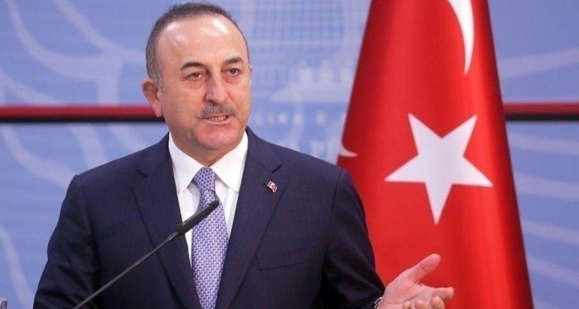 """Bakan Çavuşoğlu: """"Depremden sonra Hırvatistan'a ulaşan ilk ülke olmak istedik"""""""