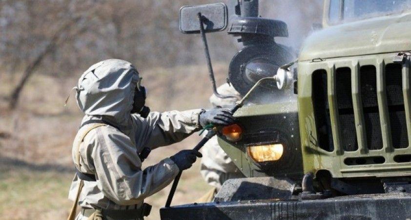Rus ordusundan 'koronavirüsü' tatbikatları