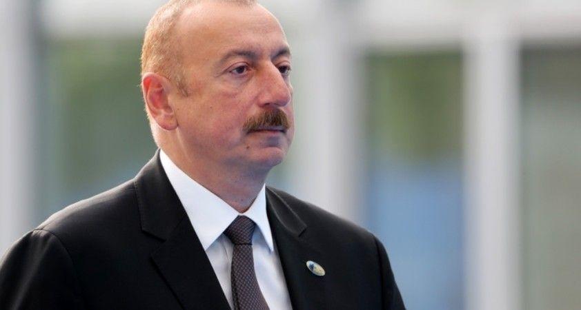 Azerbaycan Cumhurbaşkanı Aliyev: 'Gubadlı şehri işgalden kurtarıldı'