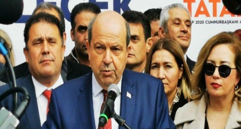 KKTC Başbakanı Tatar, 'Cumhurbaşkanlığına aday oldum kazanacağıma inanıyorum'
