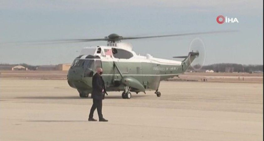 Biden ve First Lady Jill Biden kış fırtınasının vurduğu Texas'ta