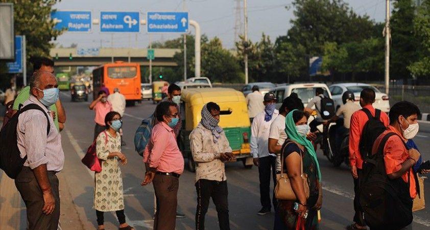 Kovid-19'dan son 24 saatte Hindistan'da 1129, Brezilya'da 869 kişi öldü