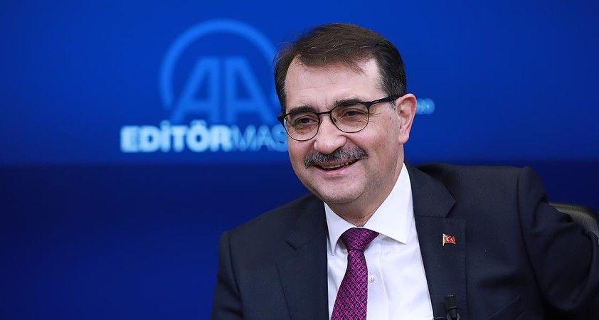 Enerji ve Tabii Kaynaklar Bakanı Dönmez AA Editör Masası'na konuk olacak