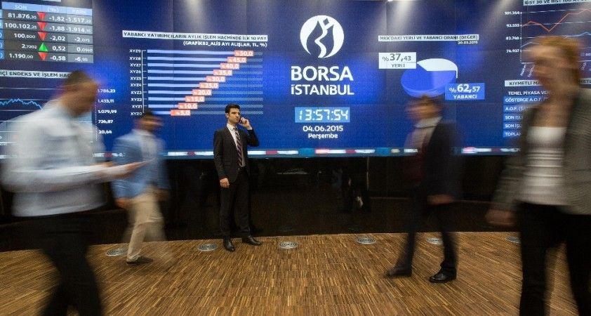 Borsa ilk yarıda değer kazandı