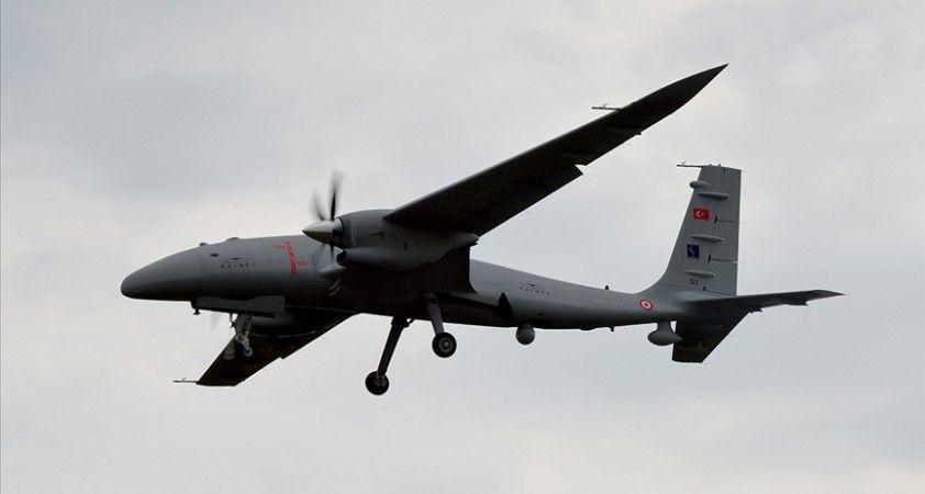 Bayraktar AKINCI TİHA 1.360 kilogram faydalı yükle 13 saat 24 dakika uçtu