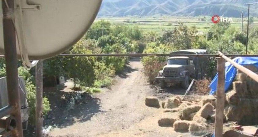 Ermenistan işgalinden kurtarılan Padar köyünün görüntüleri paylaşıldı