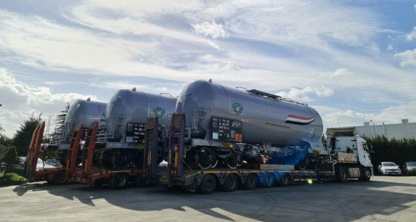 Irak petrolünü dünyaya Cryocan firmasının ürettiği vagon tanklar taşıyacak