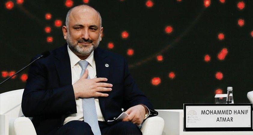 Afganistan Dışişleri Bakanı Atmar: Türkiye'nin Kabil havalimanının güvenliği açısından rolü son derece önemli