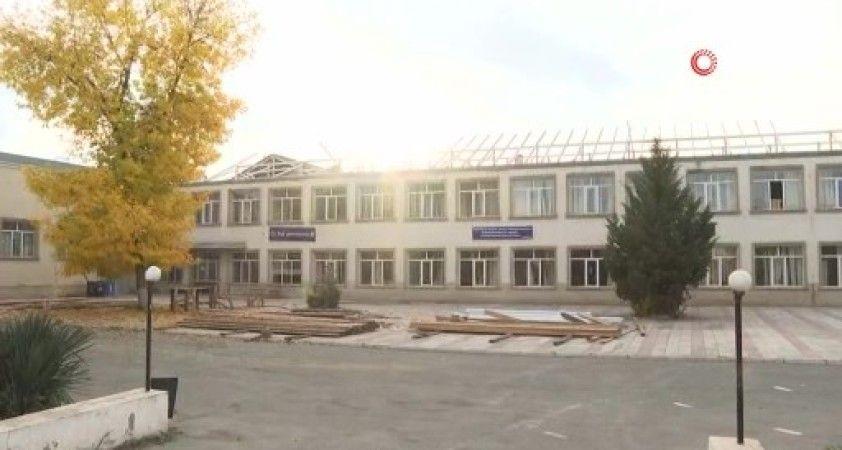 Ermenistan'ın vurduğu Garadağlı köyü görüntülendi