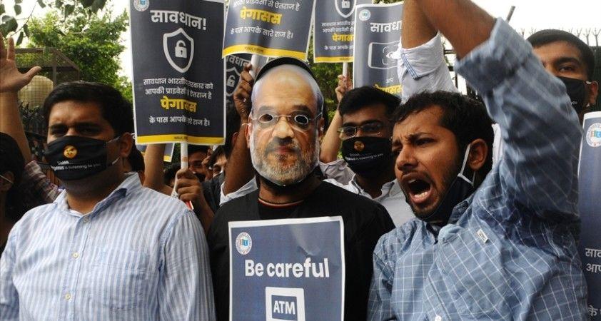 Casus yazılım skandalı Hindistan parlamentosunda protestolara neden oldu