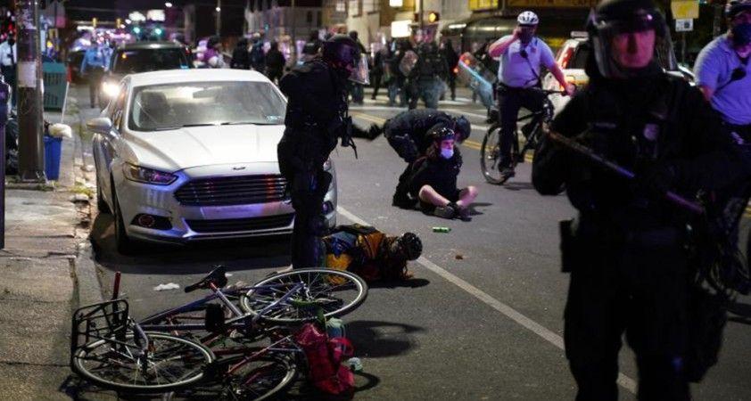 Wallace protestoları sırasında Philadelphia'da sokağa çıkma yasağı