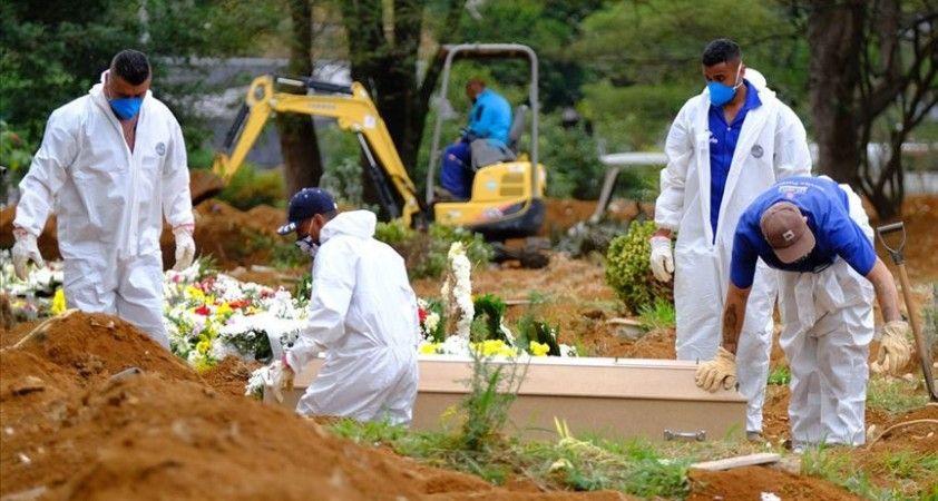 Kovid-19'dan Brezilya'da 1252, Meksika'da 679, Hindistan'da 391 kişi öldü