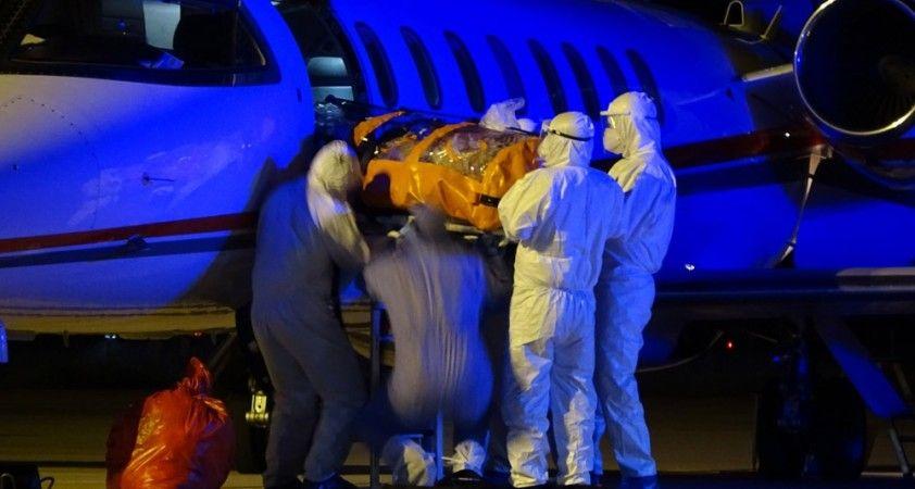 Rusya'da koronavirüs bulaşan 2 Türk, özel uçakla Bursa'ya getirildi