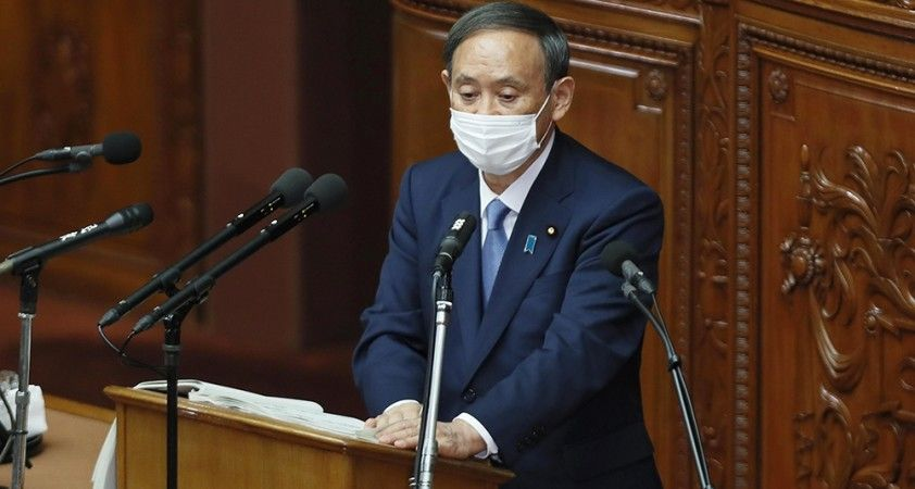 Japonya Başbakanı Suga'dan artan Covid-19 vakalarına dair korkutan açıklama