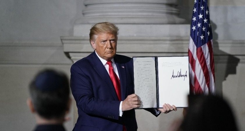 Trump'tan İran ile silah ticareti yapanlara yaptırım planladığı iddiası