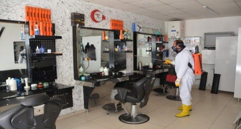 Suluova'da dezenfekte çalışmaları sürüyor